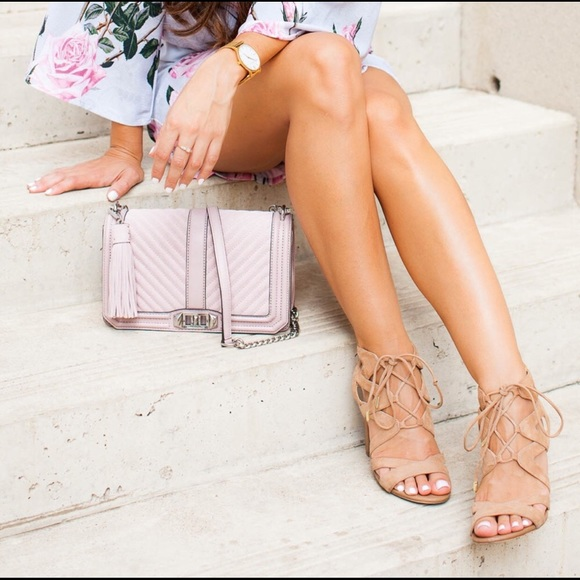 2e75ee2a80f5 SAM EDELMAN CIRCUS Emília lace up tan sandals